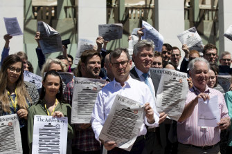 Journalists face a culture of secrecy and laws threatening them with jail if they report leaked information.