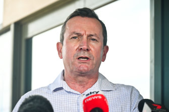 Premier Mark McGowan will inform the community of further restrictions on Monday.