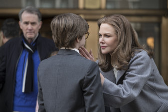 A 'marble-like' Nicole Kidman in The Goldfinch.
