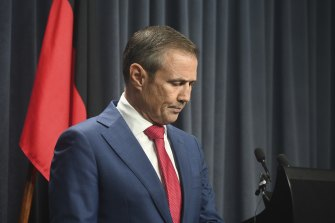 Health Minister Roger Cook addresses the crisis of overworked staff in the health system.