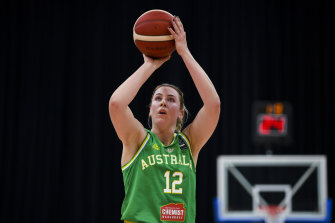 Sara Blicavs is looking forward to getting her chance in the WNBA despite the uncertainty caused by the pandemic.