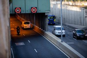 Traffic on Sydney's M5 East on Thursday.