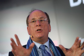 Larry Fink's BlackRock BlackRock is making a five-year, $US100 million grant from its charitable foundation.