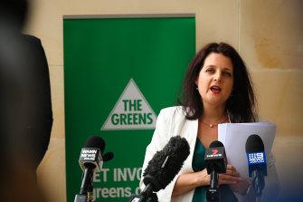WA Greens leader Alison Xamon.