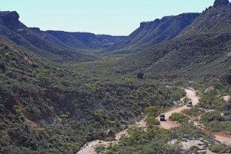 Shothole Canyon in Exmouth's Cape Range.