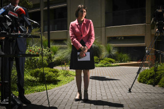 NSW Premier Gladys Berejillian on Tuesday.