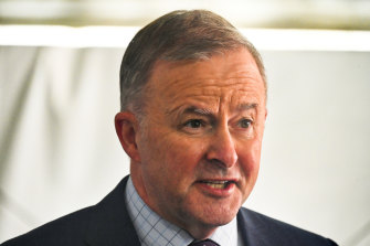 Anthony Albanese said the Morrison government was passing the buck to the states.