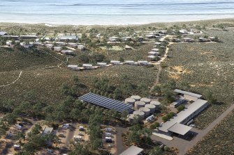 The Forrest family wants to redevelop the Ningaloo Lighthouse caravan park.