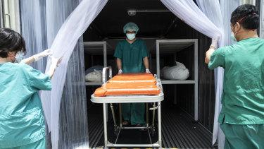Deaths reach tsunami proportions in Thai COVID surge