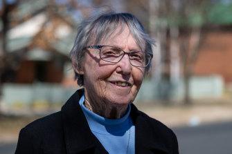 Sister Bernie Evens  in Bathurst.