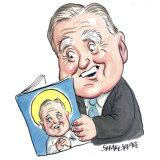 Christian Democratic Party MP Fred Nile. Illustration: John Shakespeare