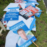 Perth schools left to clean up party posters in aftermath of election