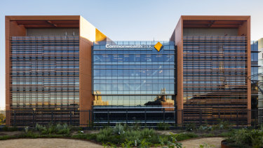 Mirvac's completed South Eveleigh offices at the Australian Technology Park for CBA.