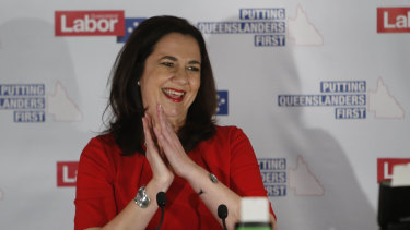Labor claims it has the seats to form government but Premier Annastacia Palaszczuk isn't visiting the Governor yet.