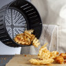 How does the restaurant critic rate the air fryer?