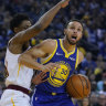 Steph Curry on the rise again at NBA champs Warriors
