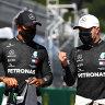 Bottas pips Hamilton to start F1 season on pole in Austria