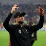 Liverpool's Klopp not feeling Christmas spirit
