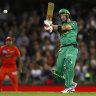 Maxwell fireworks power Stars to derby win