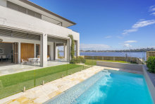 The four-bedroom waterfront to Swan River with boat shed at 172 Waratah Place Dalkeith, sold by private treaty for $7.28 million.