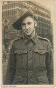 Bill Ryan during the Second World War.