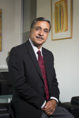 Professor Deep Saini is Australia's first non-European, non-Anglo-Celtic vice-chancellor.
