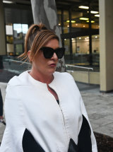 WA Police officer Melissa Hankinson who alleges her former partner Troy Buswell assaulted her.