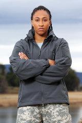 AFLW player Sabrina Frederick makes a big impression in SAS Australia.