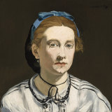 Edouard Manet, Victorine Meurent c. 1862, oil on canvas.