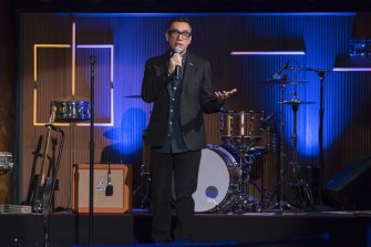 Fred Armisen's live comedy show will delight fans of music - except lovers of classical.