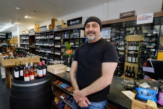 Brian Haddad, owner of Westgarth Liquor in Northcote.
