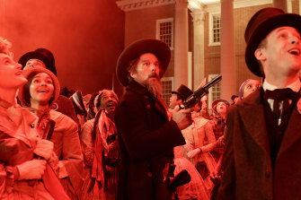 Ethan Hawke as abolitionist John Brown in The Good Lord Bird.