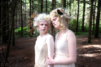 """Lucy Carpenter (left) and Sammy McCombe: """"Sammy says what she's thinking. She bites back. This is something I'm still working on."""""""