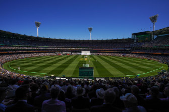 MCG on Boxing Day 2019.