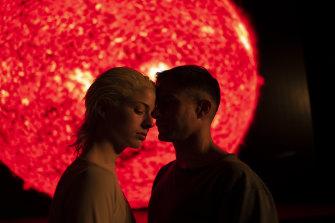 Mariana Di Girolamo andGael Garcia Bernal play a couple who return their adopted sonin Ema.
