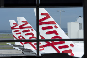The pandemic has thrown Virgin Australia into financial strife.