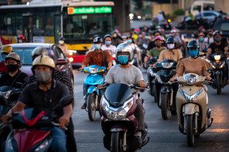 Vietnam is struggling to contain the Delta strain of COVID-19.