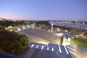 The construction of Sydney Modern is due to be finished in 2022.