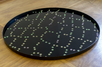 Lauren Burrow, A Stick Developing Eyes, 2020–2021 (detail), installation view, Coconut Studios, Darwin.