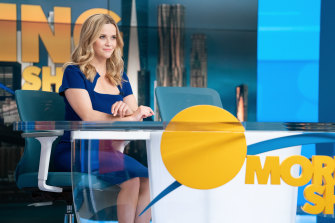 Morning has broken ... Bradley Jackson (Reese Witherspoon) on the (fictional) set of The Morning Show.