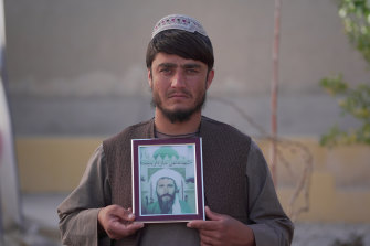 Hazratullah Sardar was 14 when his father, Haji Sardar, was killed in their southern Afghanistan village.