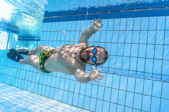 Grant 'Scooter' Patterson during a training camp in Cairns.