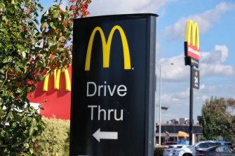McDonald's will be delivery-only in Stage Four areas.