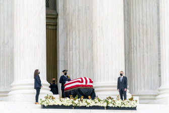 Ginsburg's body will lie in state at the Capitol on Friday, the first time a woman receives that distinction.