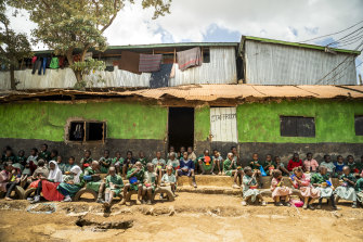 St John Community School provides an education for 400 children from the poorest families in Kenya's Kibera slum.
