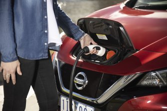 Electric vehicle sales still make up less than 1 per cent of Australia's national market.