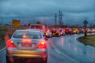 Melbourne's traffic