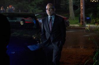 Bob Balaban as CIA deputy director Reuel Abbott.