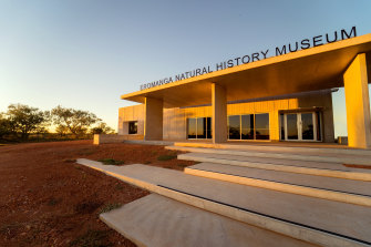 The Eromanga Natural History Museum where Cooper's bones are displayed.