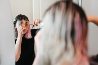 Hairdressers in NSW are preparing to open their doors for vaccinated people once the vaccination rate hits 70 per cent double-dosed next month.